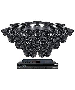 Lorex 32 Channel 4K 4MP Security System NR9326 6TB HDD 28 Ca