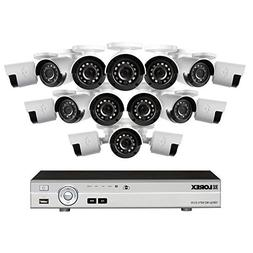 Lorex 16 Channel 1080p HD Security System with, 2TB HDD, 16