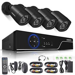 FREDI Security Camera System 8-Channel HD-TVI 1080P Lite Vid