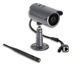 PHYLINK Bullet Outdoor Security Camera Wireless,Wi-Fi, POE,