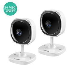 1080P Security WiFi Camera,180 degree Panoramic Wireless IP