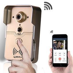 KAREye Smart Home WiFi Remote Video Door Phone Intercom Door
