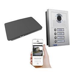 GBF WiFi Video Doorbell Intercom for Multi-Unit Apartment Bu