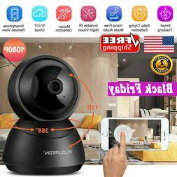1080P HD YI Cloud Wireless IP Camera Home Security Pan/Tilt/