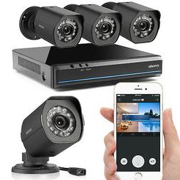 Zmodo Smart PoE Security System - 8 Channel NVR & 8 x 1080p