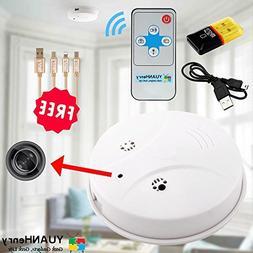 Smoke Detector Camera Hidden Spy Cam, YUANHenry HD 1080P Mot