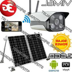 Solar Farm Camera 3G GSM IP Alarm System Home Wireless Secur