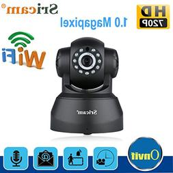 Sricam SP012 720P Pan/Tilt Indoor Wireless IP Camera WiFi Ne
