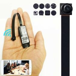 Spy Nanny CAM wireless WIFI IP Pinhole DIY Small Video Camer