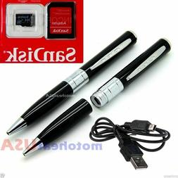 Spy Rec Pen Camera Mini Hidden DVR Surveillance Video Cam US