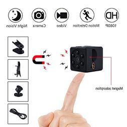 LONENESSL Super Mini Hidden Spy Camera, 1080P Portable Pocke