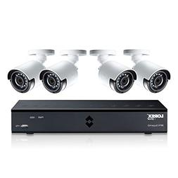 Lorex 4MP Super HD 4 Channel Security System  with 1TB DVR a