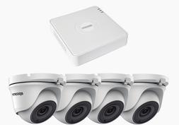 Surveillance kit, 4 cameras , 5 ch DVR , power supply & conn