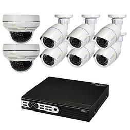 Q-See Surveillance System QT8516-8Z8-2 16-Channel HD IP NVR