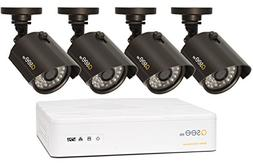 Q-See QTH98-4AG-1 | Surveillance System Includes Four 720p S