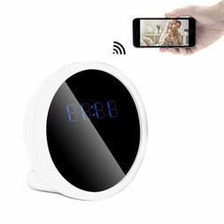 FREDI Table Clock Camera 1080P HD WiFi Mini Security IP Came