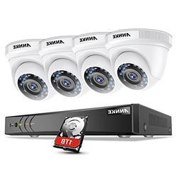 ANNKE 8-Channel 1080P HD-TVI Security Camera System TVI/CVI/