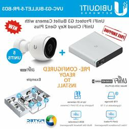 Ubiquiti UniFiProtect G3 Camera 5PACK PRE-CONFIG w/ UniFi