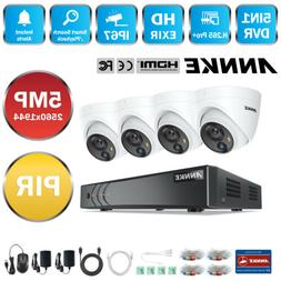 ANNKE Ultra HD 5MP 8CH DVR Outdoor 5MP PIR Detection CCTV Se