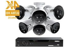 ultra hd 8 channel security system w