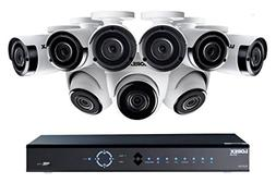 Lorex 4K 16-Channel 3TB Ultra HD IP NVR System with Nine 2K