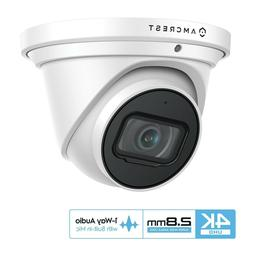 Amcrest UltraHD 4K 8MP Outdoor Security IP Turret PoE Camera