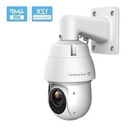 Amcrest UltraHD 4MP POE Outdoor PTZ IP Camera  Speed Dome