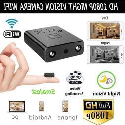 US HD 1080P WiFi Hidden Camera Remote Monitoring Nanny Recor