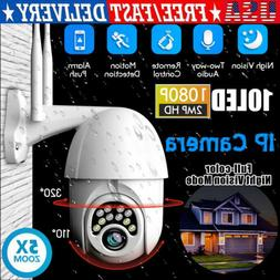 USA 1080P HD IP CCTV Camera Waterproof Outdoor WiFi PTZ Secu