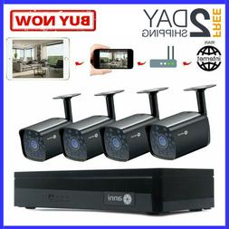 Video Security Camera System Audio Motion Detection Email Al
