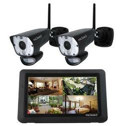 CasaCam VS1002 Wireless Security Camera System with AC Power