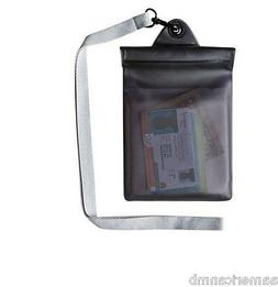 Travelon Waterproof Pouch Secure Self Seal Black Phone Money