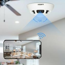 FREDI WiFi 1080P Hidden Smoke Detector Camera Motion Detecti