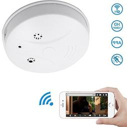 WiFi Hidden Camera Spy Camera Smoke Detector, DareTang HD 10