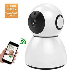 Home Security Camera System, MWAY HD 1080P WiFi IP Camera,2