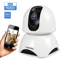 JBonest WiFi IP Camera,1080P HD Wireless Security Camera Pan