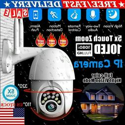 Wifi Outdoor Security IP Camera 1080P HD Waterproof Two Way