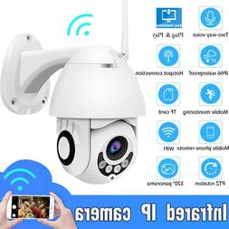 WiFi PTZ Speed Dome Camera 1080P HD Security IP IR Camera Ni