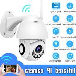 WiFi PTZ Speed Dome Camera 1080P HD Security IP IR Camera Ni