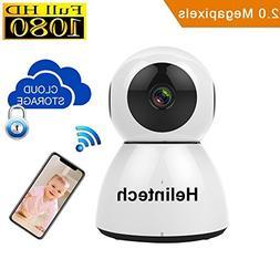 Mrtech 1080P Wifi Security Camera, Indoor Dome Surveillance