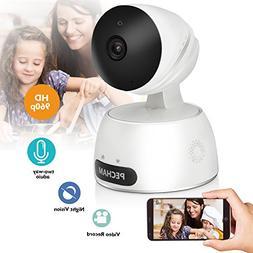 PECHAM 960P HD WiFi Security Camera, Wireless IP Camera Baby