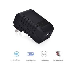 WiFi Hidden Camera Charger, Spy Camera USB Wall Charger Nigh