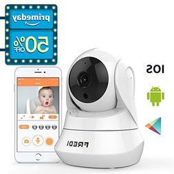 FREDI WiFi Wireless Camera with Remote Viewing Indoor Pan/Ti