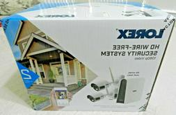 Lorex LHB80632GC2W Wire-Free 6-Channel HD DVR with 2 Cameras