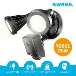 ANNKE Wireless 1080P Floodlight AI Security Camera 2MP WIFI