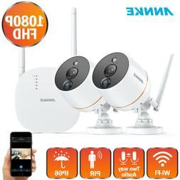 ANNKE Wireless 1080P Mini 4CH NVR 2MP WiFi Security Camera S