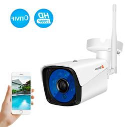 Wireless 1080P Security Camera Outdoor Wifi Surveillance Nig