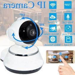 Wireless 720P Smart WiFi Security Camera Home IR Webcam Cam