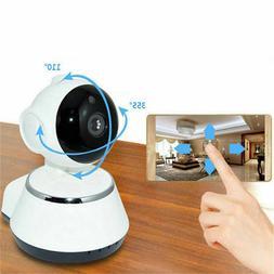 Wireless 720P V380 Smart WiFi Security Camera Home IR Webcam