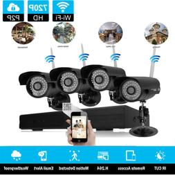 8CH Wireles H.264 NVR Outdoor Waterproof Wifi IR-CUT Camera